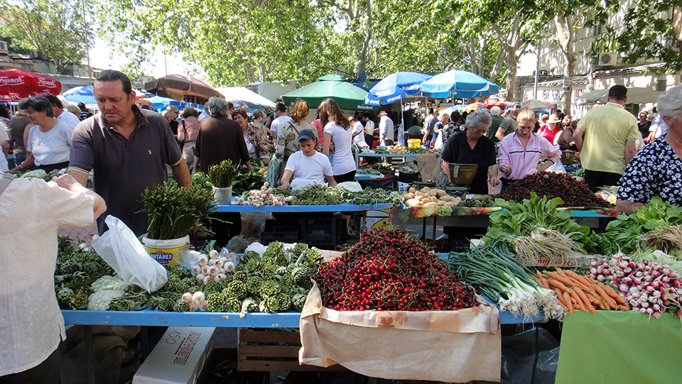 Split's Pazar market